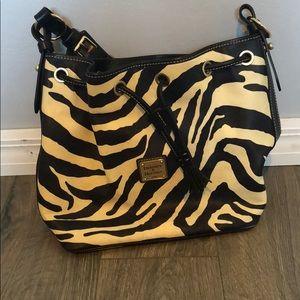 Zebra print Dooney & Bourke women's purse